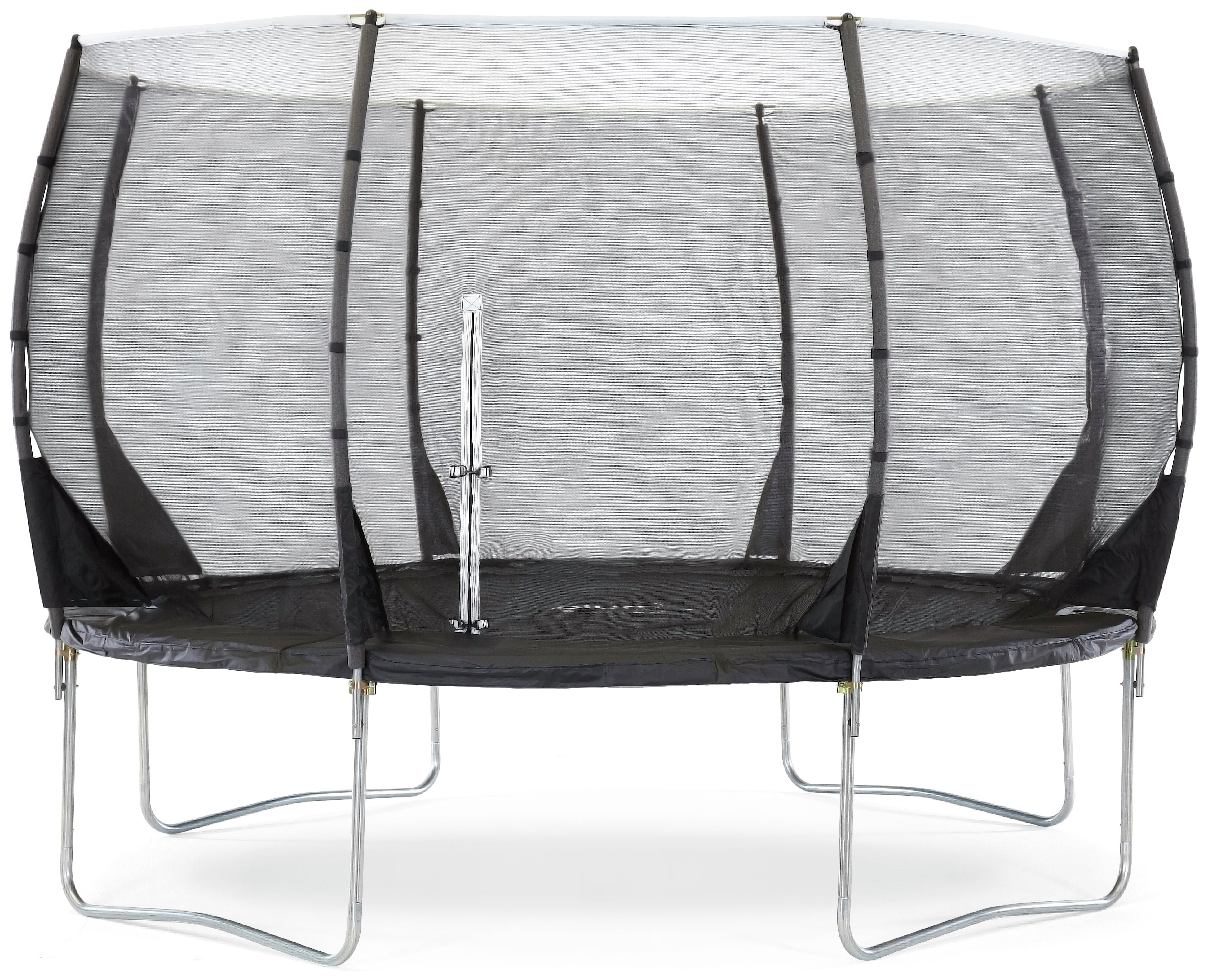 Plum 12ft Magnitude Springsafe Trampoline With Enclosure