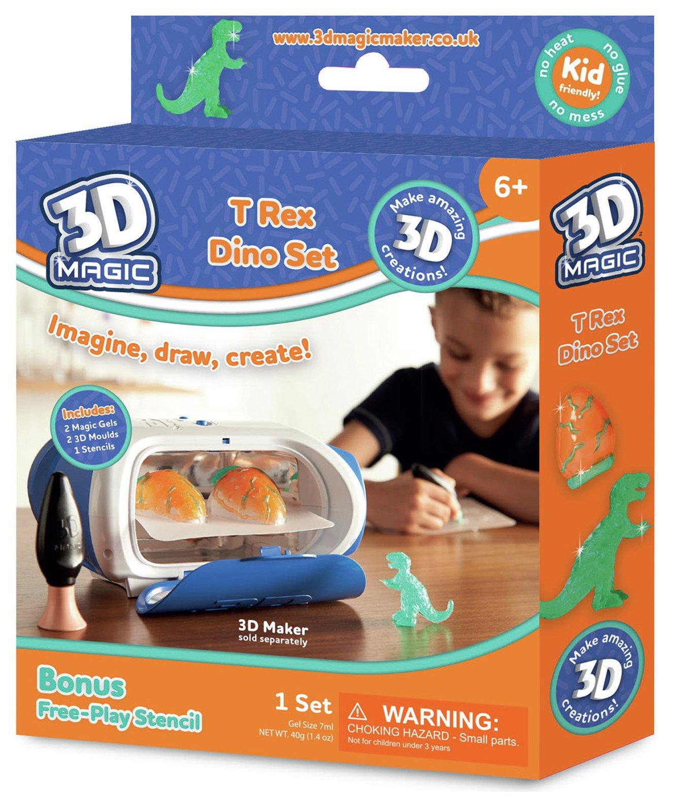 Image of 3D Maker T-Rex Dinosaur Set.
