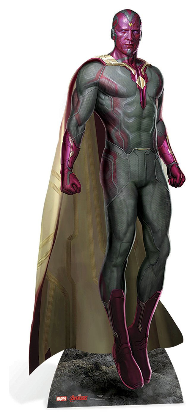 Image of Avengers - Vision Age of Ultron - Life-Sized Cut-Outs