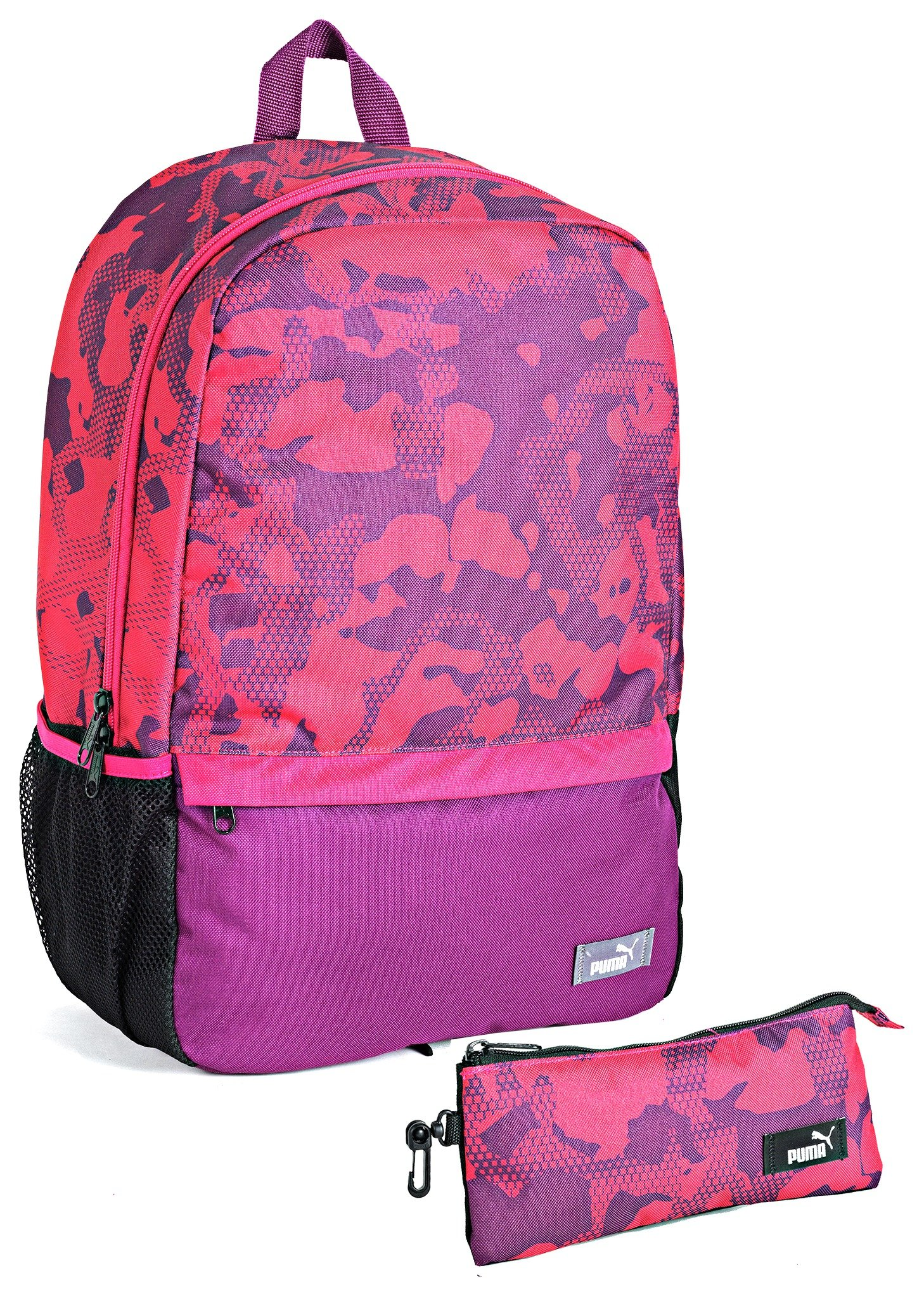 Puma Backpack and Pencil Case - Pink lowest price