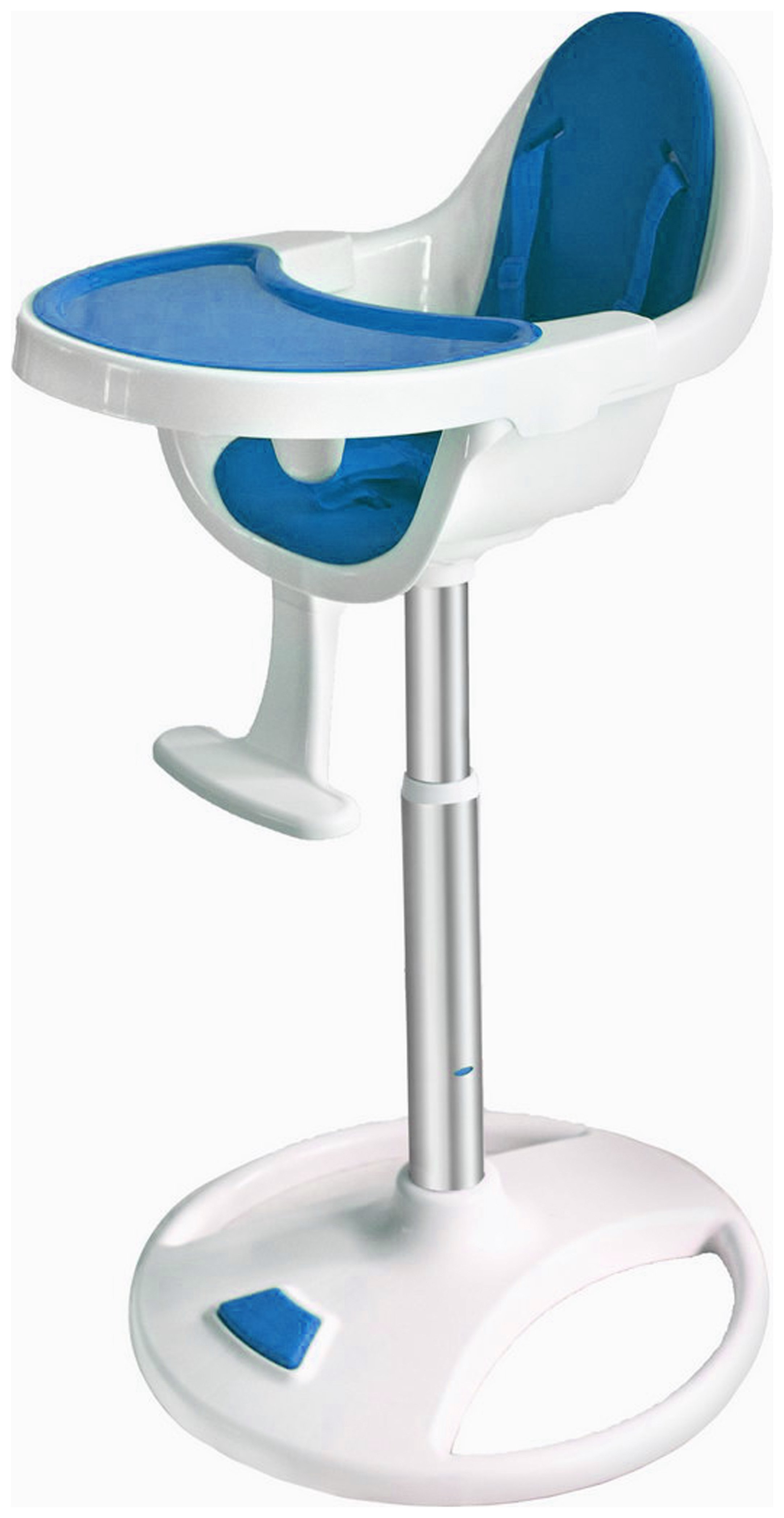 Image of BeBe - Style 360 Swivel - Highchair - Blue