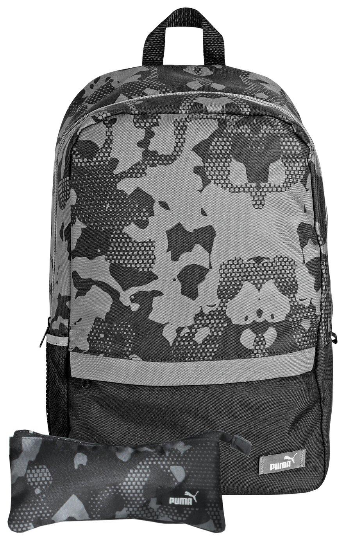 Puma Backpack & Pencil Case - Black lowest price