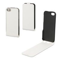 Xqisit - Flipcover - for - iPhone - 5S - White