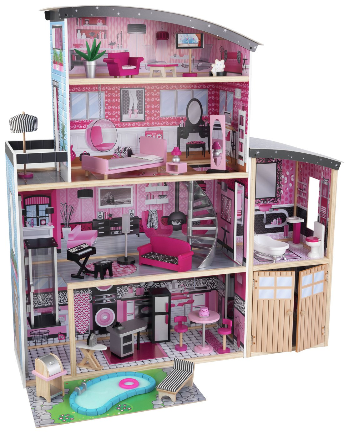 706943658260 Upc Kid Kraft Sparkle Mansion Dollhouse
