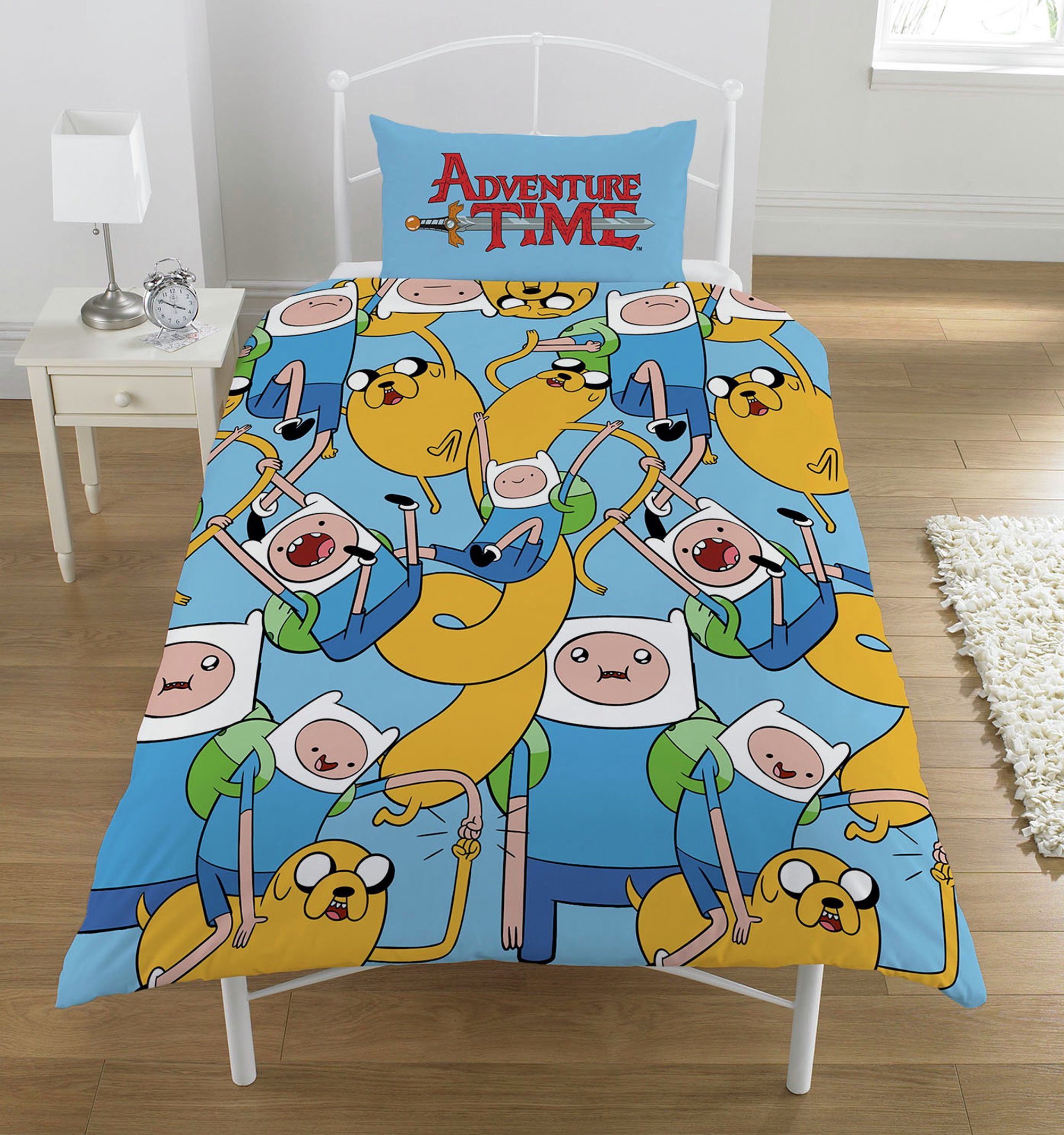 Image of Adventure Time Bedding Set - Single.