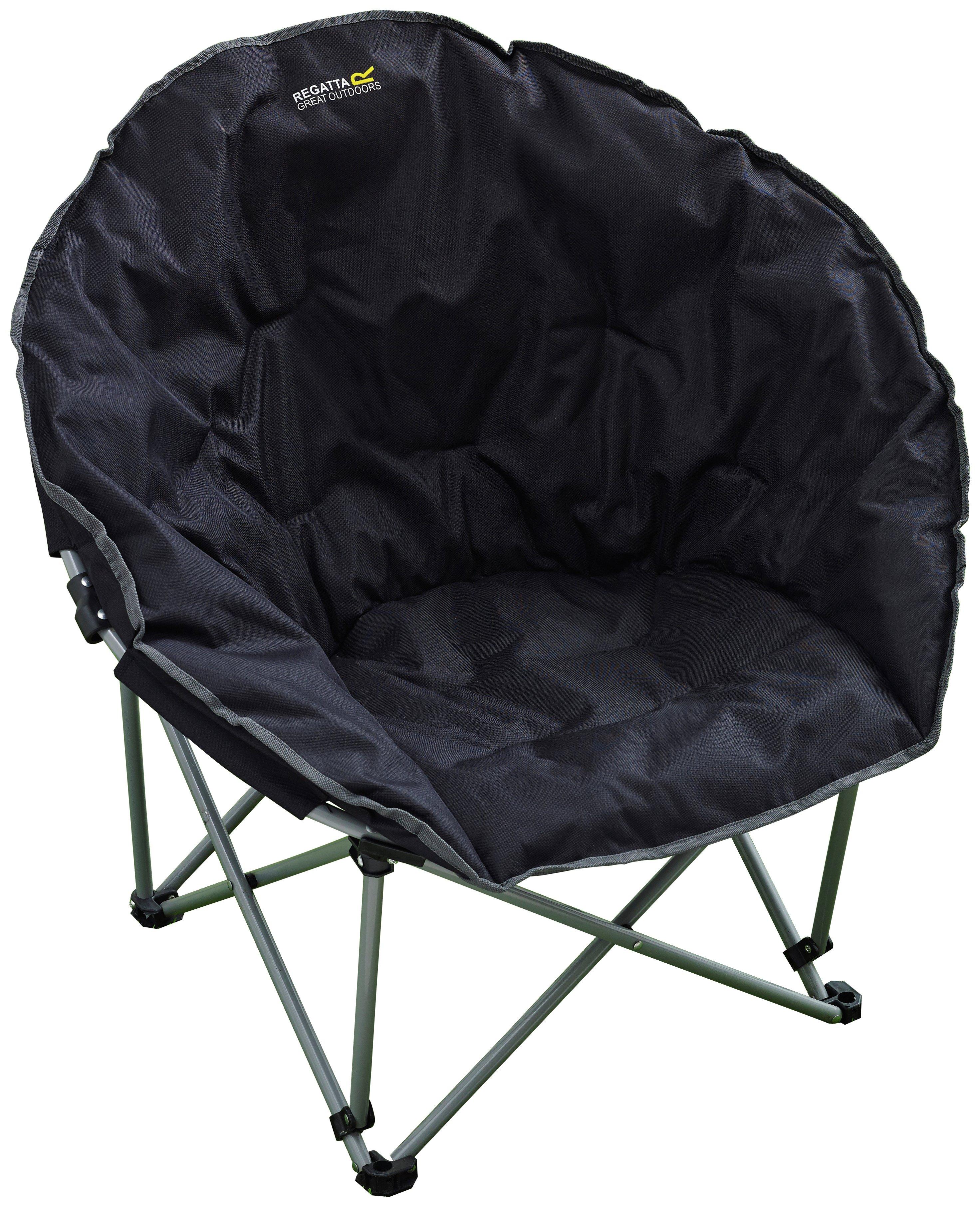 Regatta Black Castillo Camping Chair