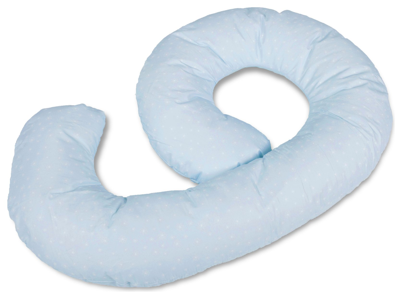 Kit for Kids Cuddle Me Pregnancy Pillow - Blue Flower