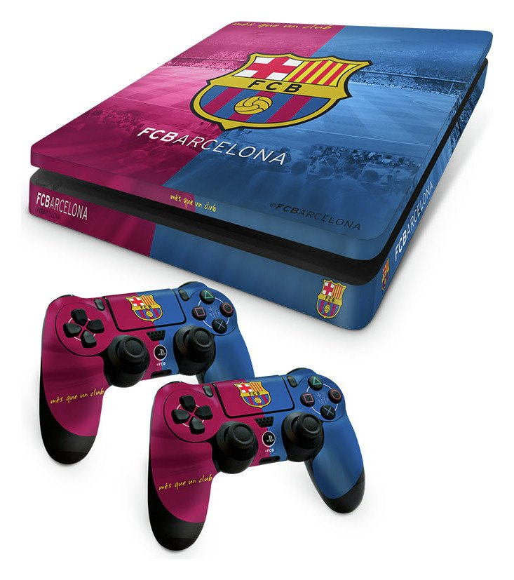 barcelona-fc-ps4-slim-skin-bundle