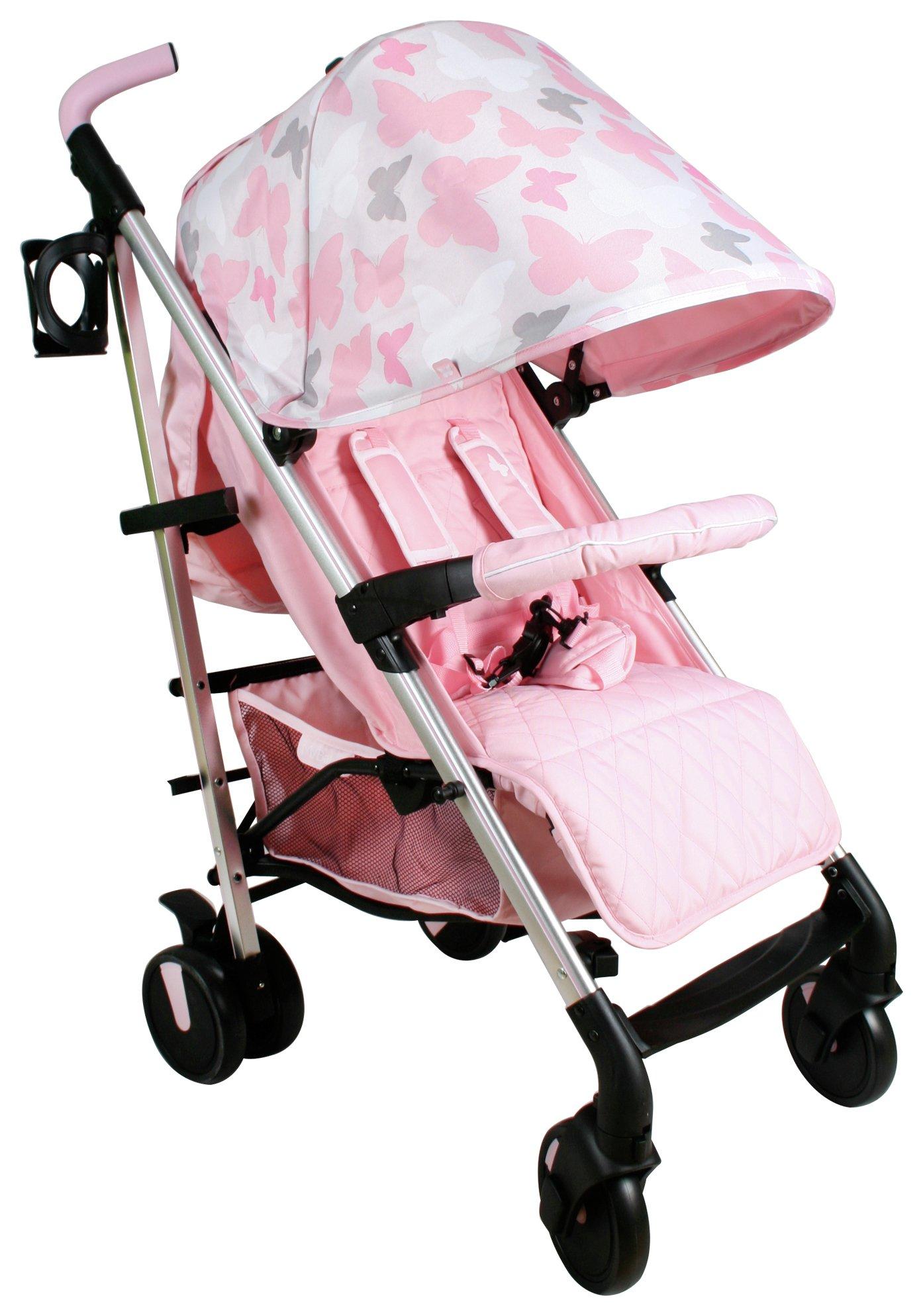 My Babiie MB51 Katie Piper Pink Butterflies Stroller