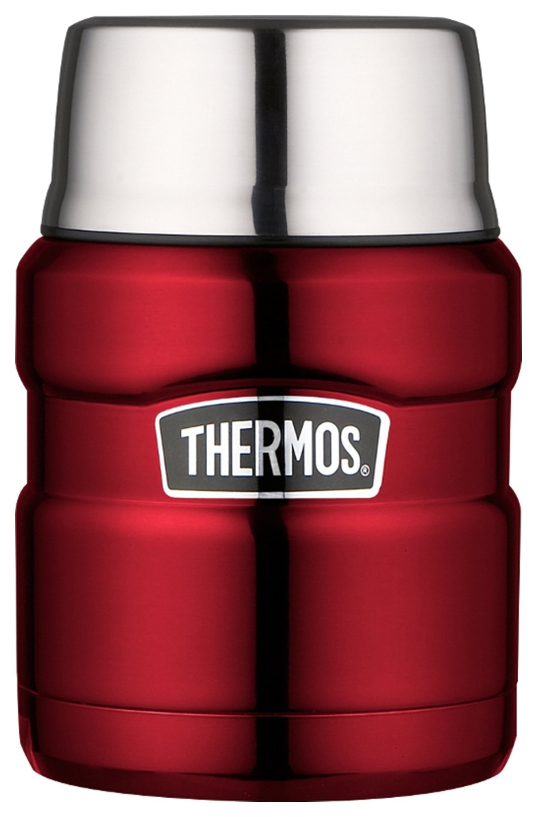 Image of Thermos Stainless King Red Food Flask ??? 470ml