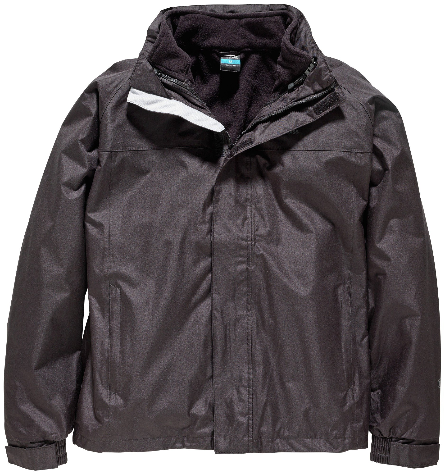 Image of Trespass Black 3 in 1 Jacket - Small