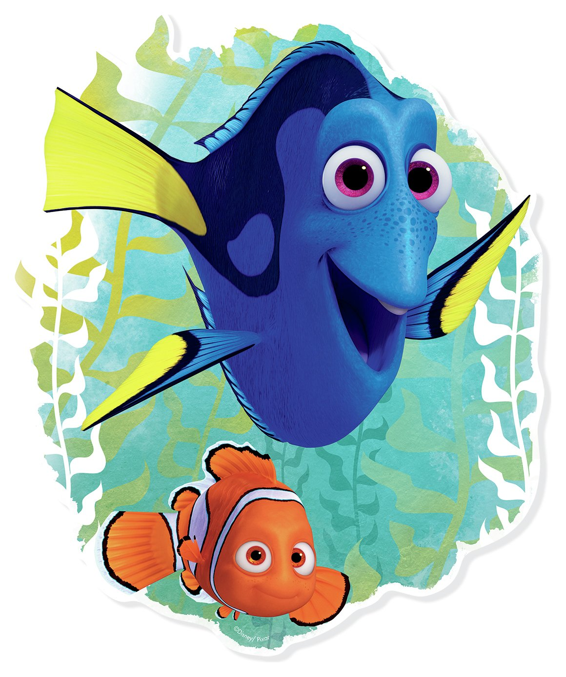 Star Cutouts Finding Dory With Nemo.