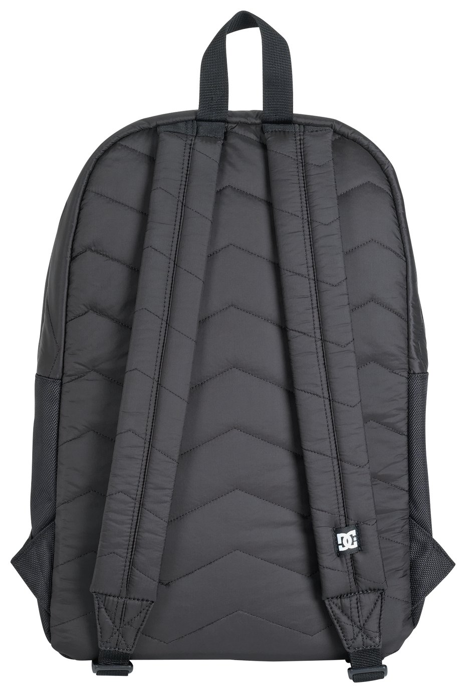 DC Black Quilted Backpack lowest price