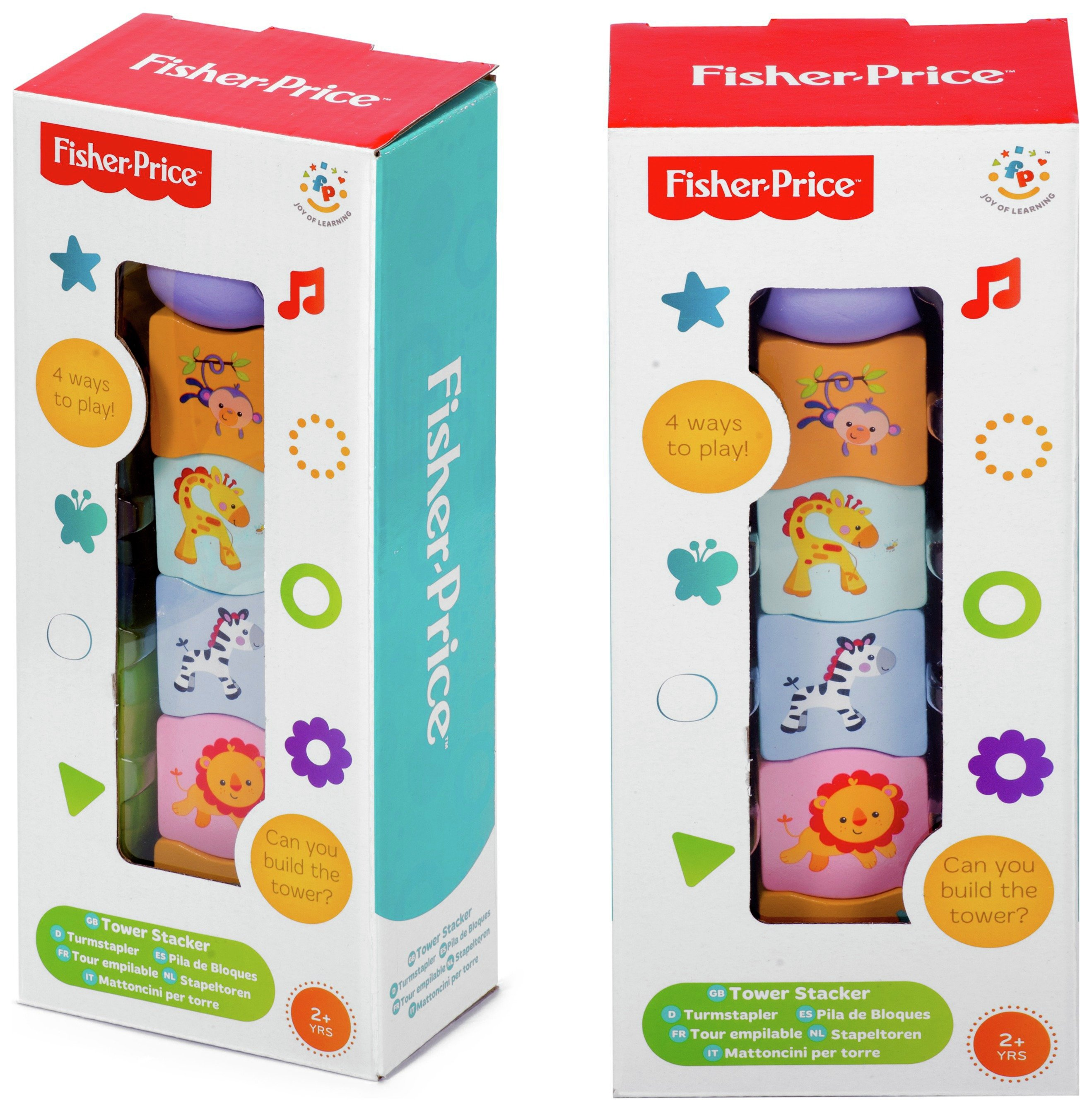 Image of Fisher-Price Stacking Tower.