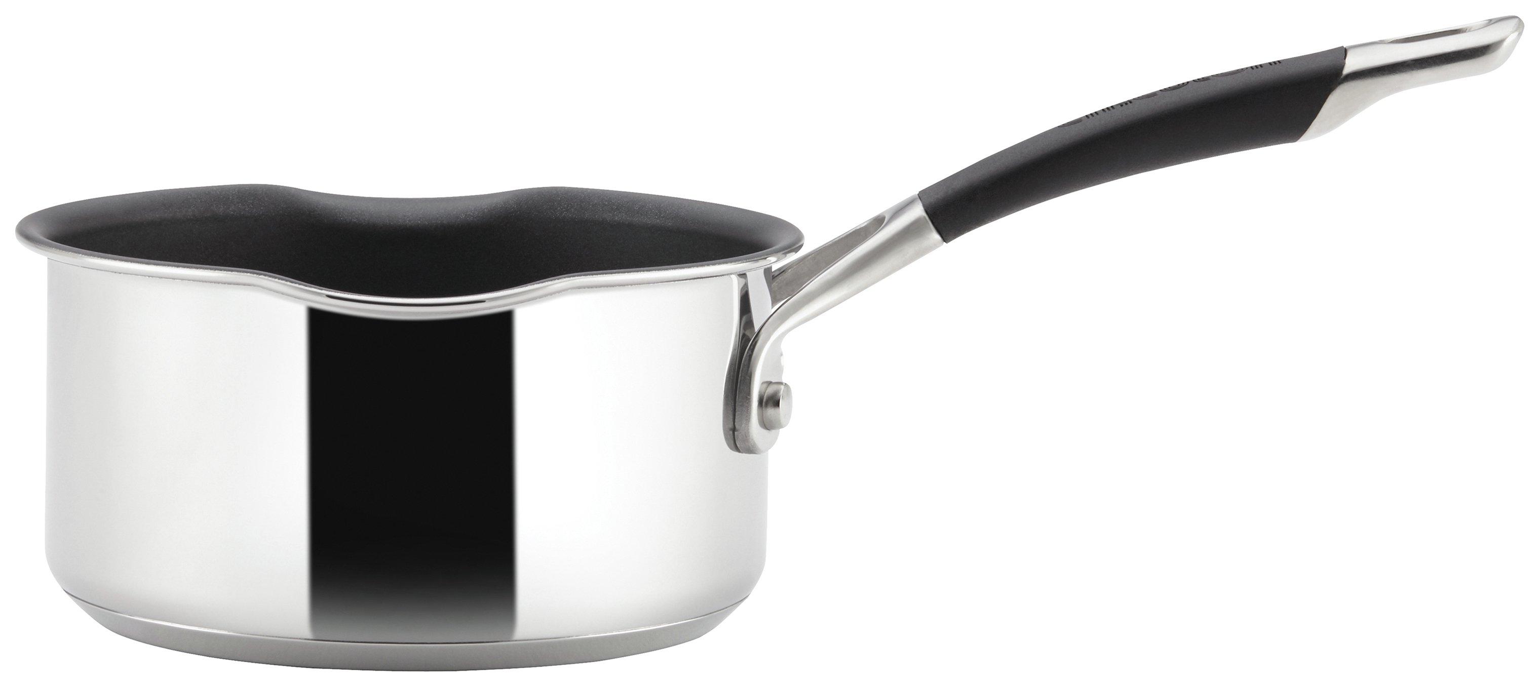 Image of Circulon Momentum 14cm Stainless Steel Milk Pan.