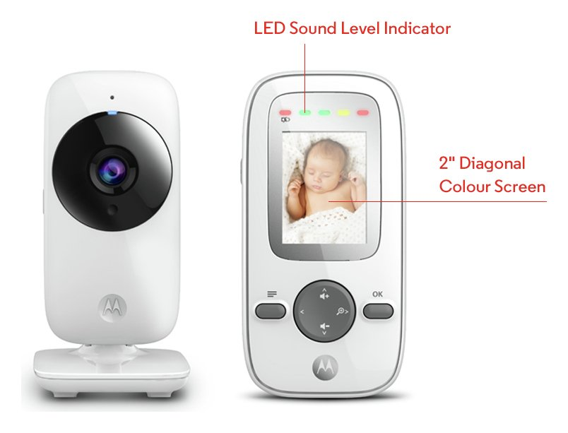 Motorola MBP481 Video Baby Monitor