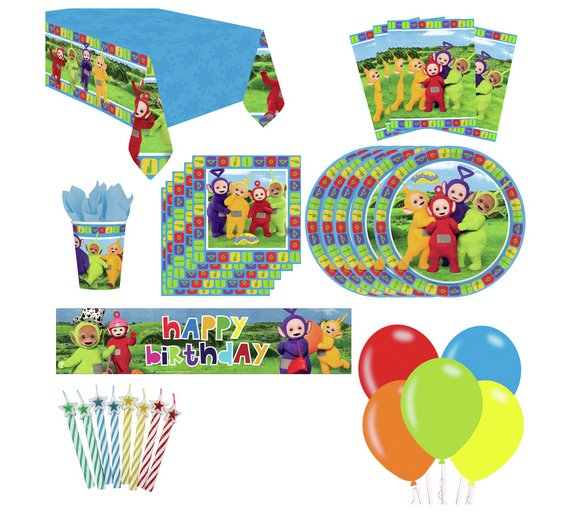 Buy Dhx Media Teletubbies Party Pack For 16 Guests Party Supplies