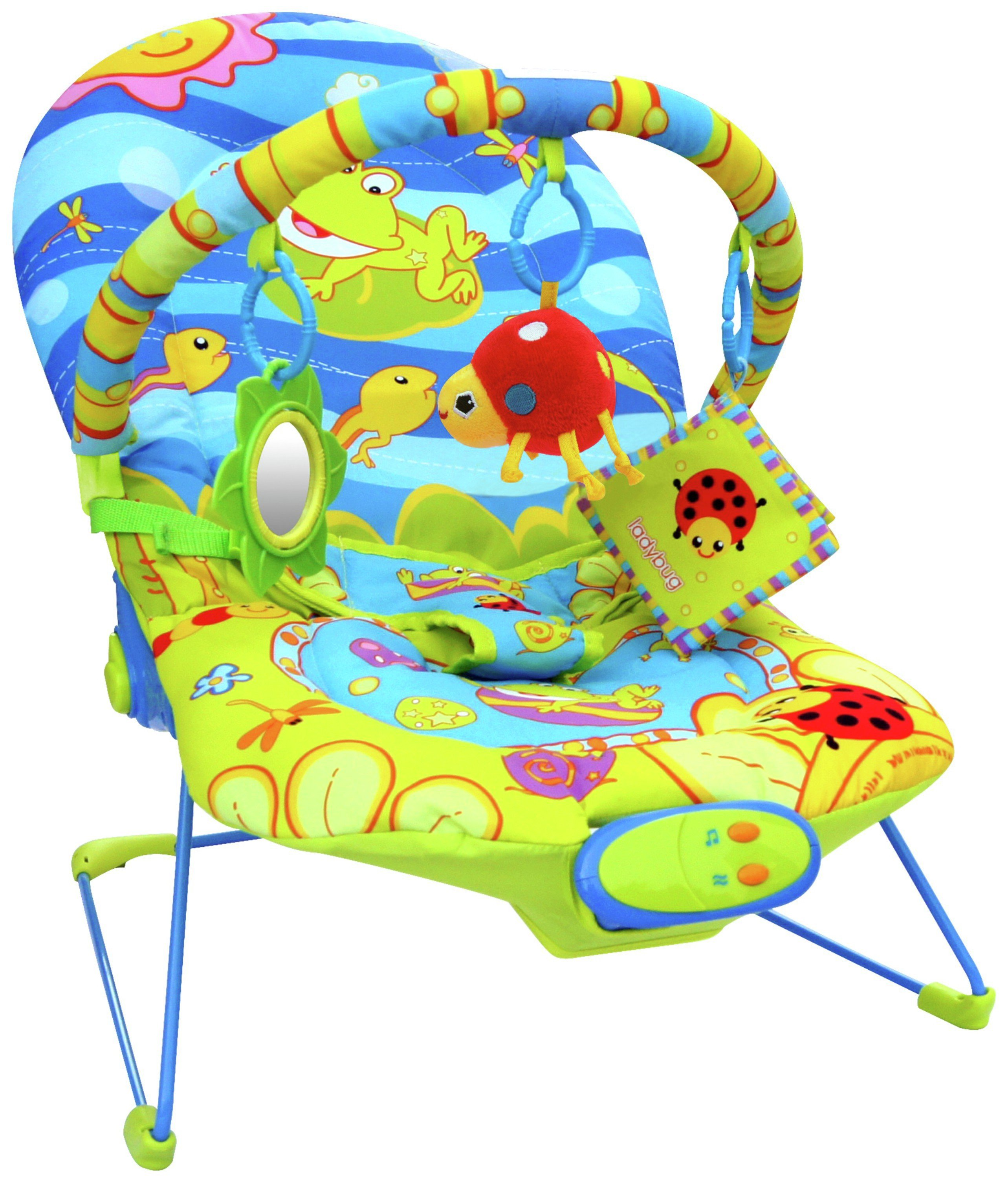 Image of BeBe Style Ocean World Bouncer With Vibration Music.