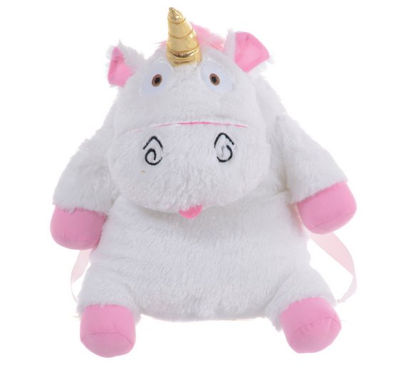 Buy Universal Despicable Me Fluffy The Unicorn Plush Backpack