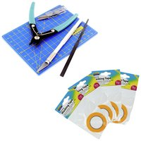 Modelcraft Modelling Set With 4 Masking Tapes.