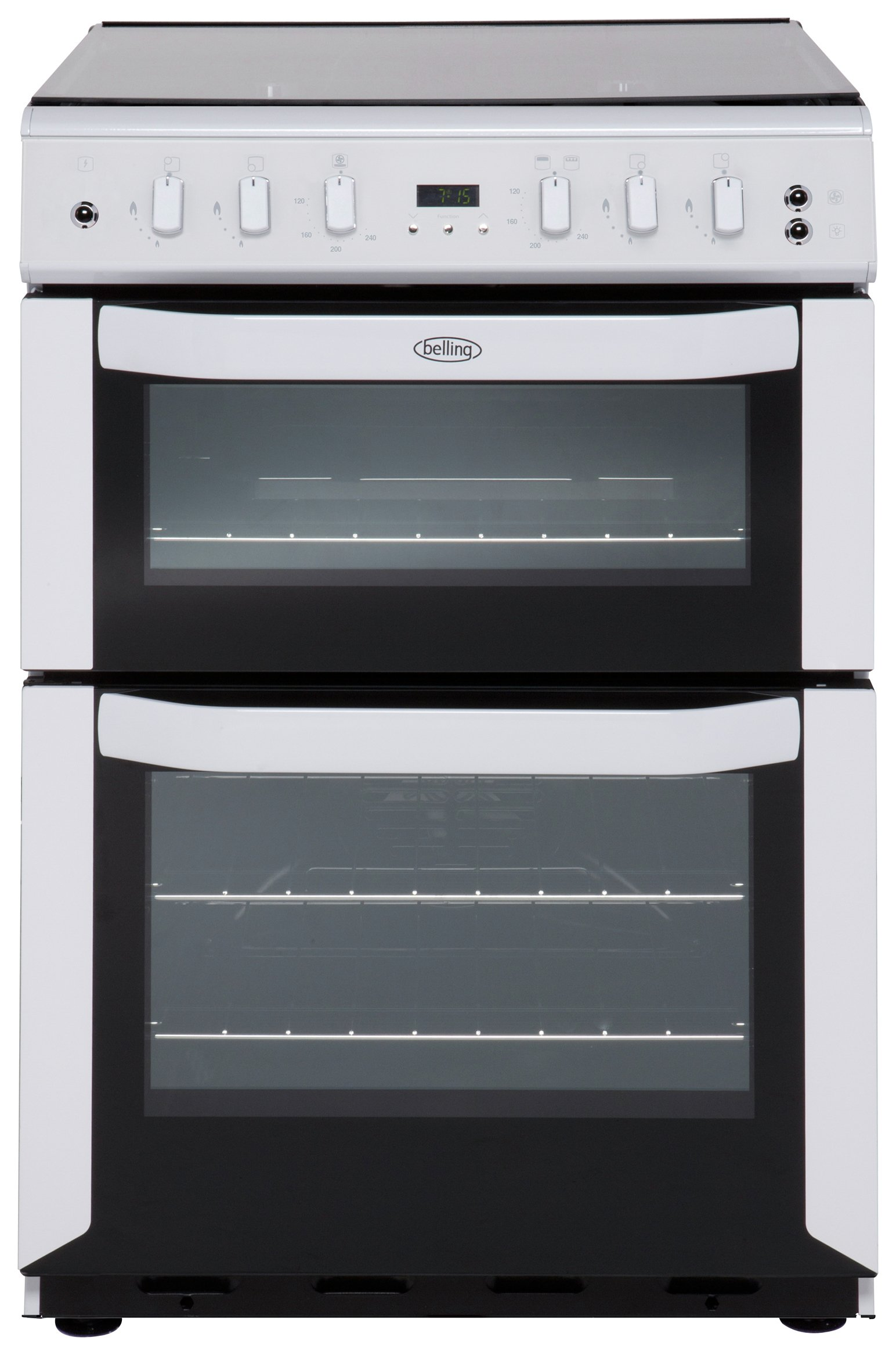 belling fsg60dof gas cooker white at argos. Black Bedroom Furniture Sets. Home Design Ideas