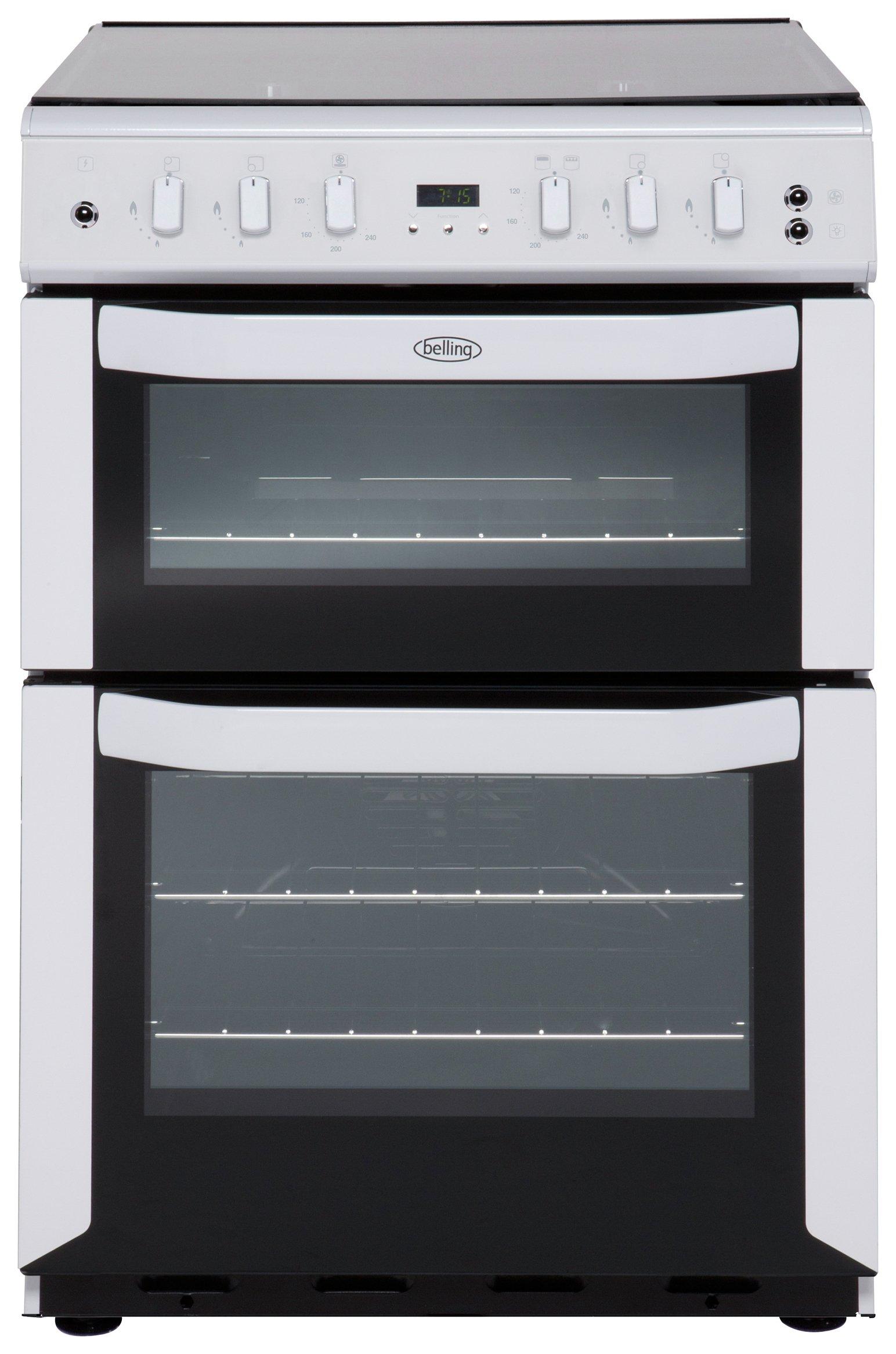 belling fsg60dof gas cooker white at argos. Black Bedroom Furniture Sets. Home Design Ideas