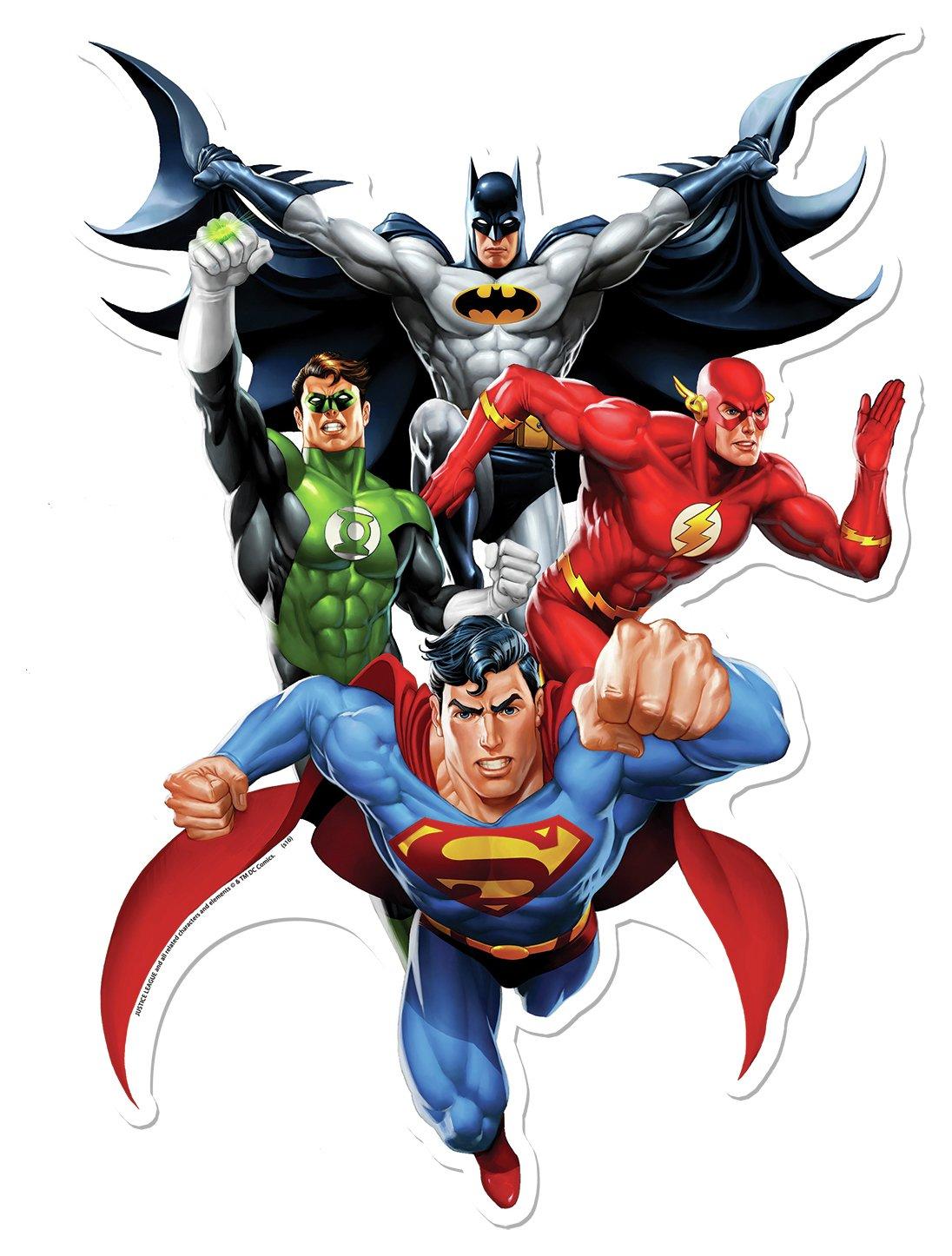 Image of DC Comics Star Cutouts Justic League Heroes