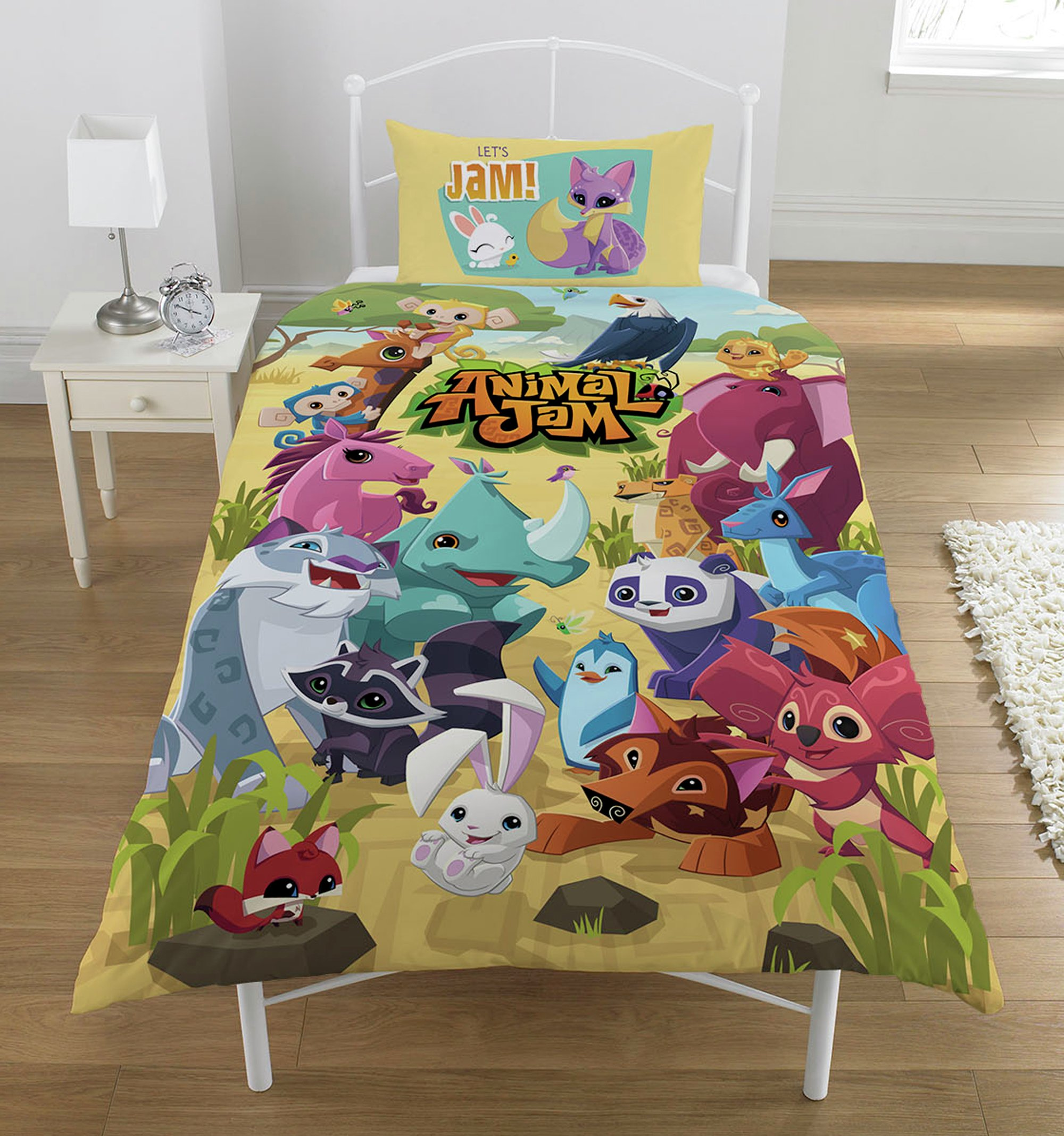Image of Animal Jam Pawsome Bedding Set - Single.