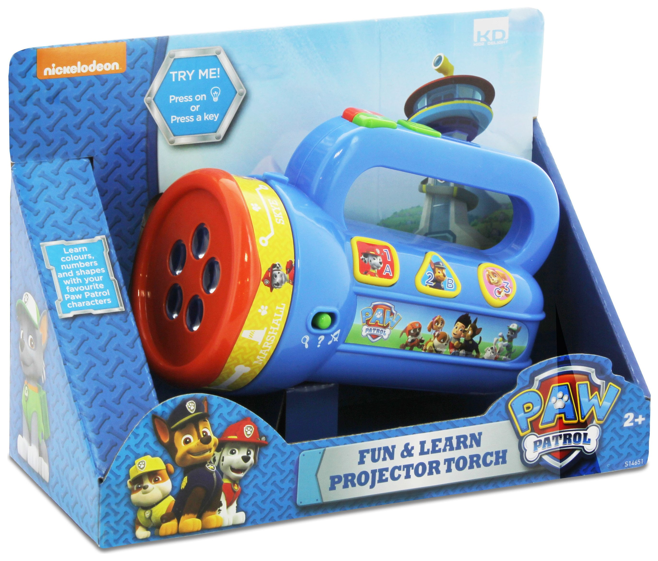 PAW Patrol Fun and Learn Projector Torch.