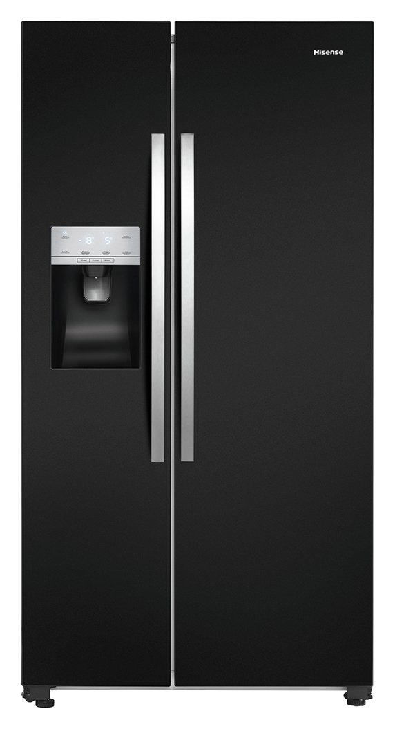 Hisense RS696N4IB1 American Fridge Freezer - Black