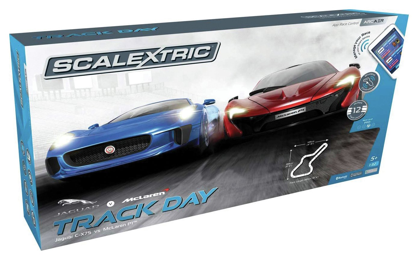 Scalextric Arc Track Day Set.