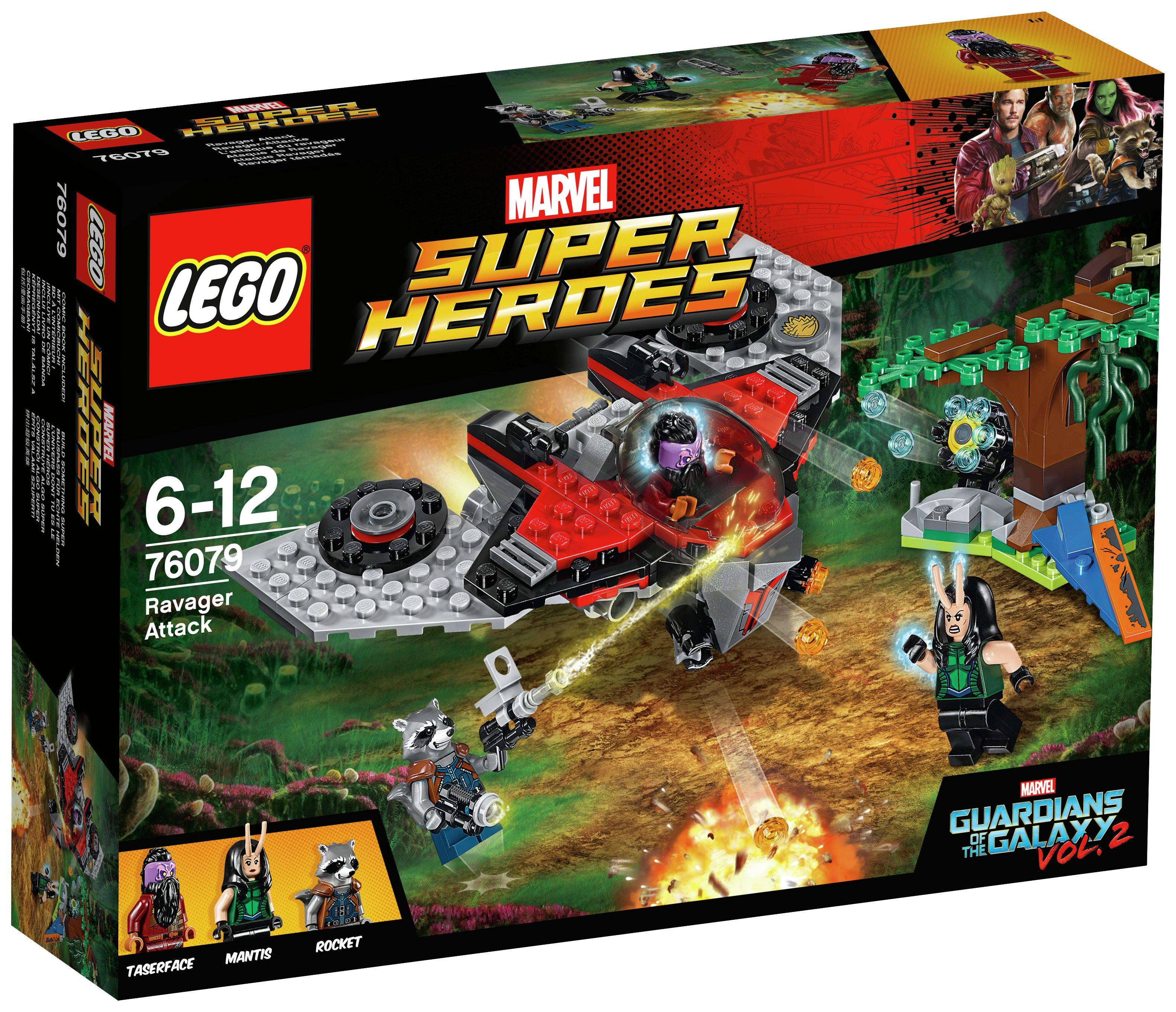 LEGO Marvel Super Heroes Ravager Attack - 76079