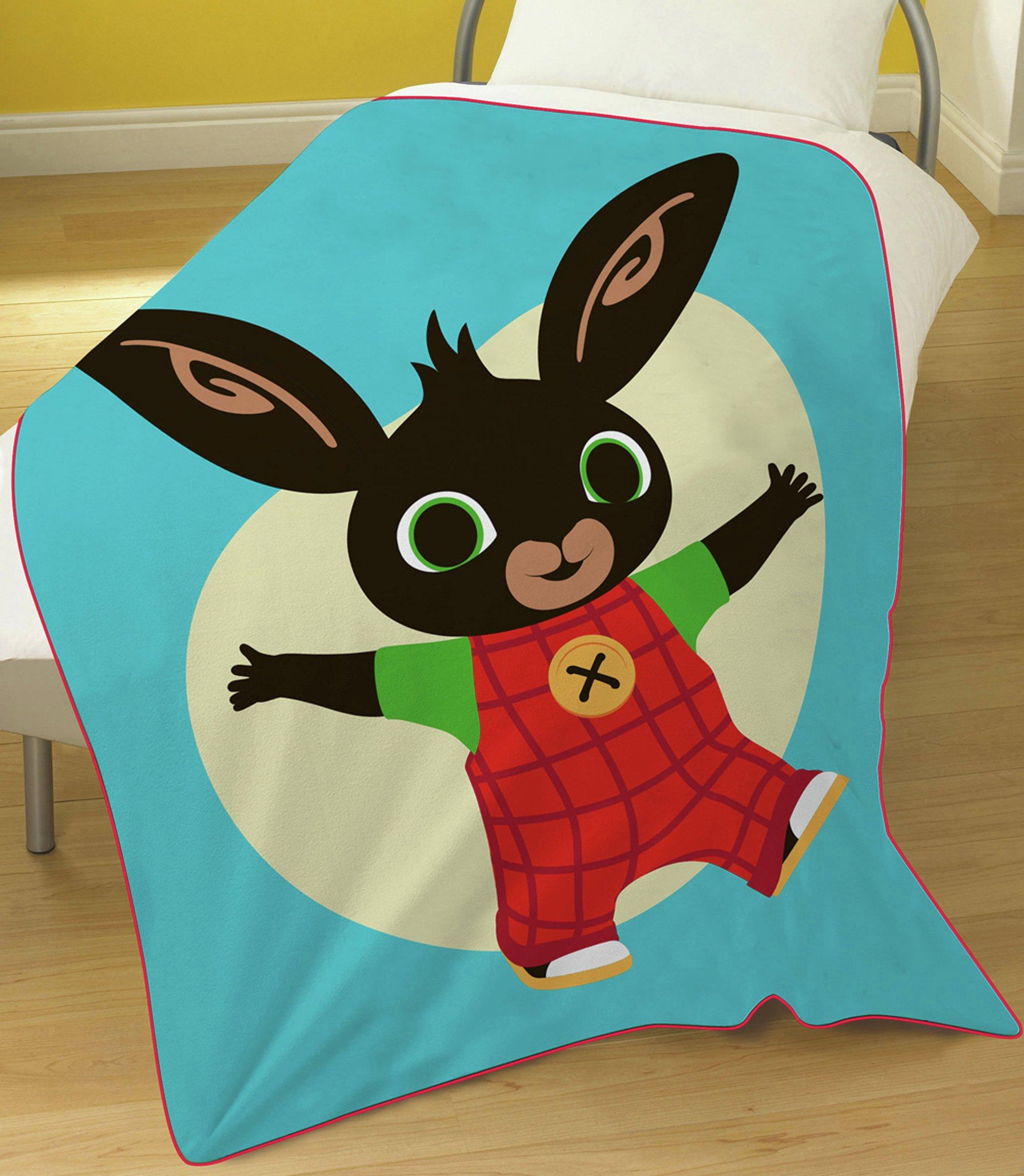 Image of Bing Bunny Fleece Blanket.