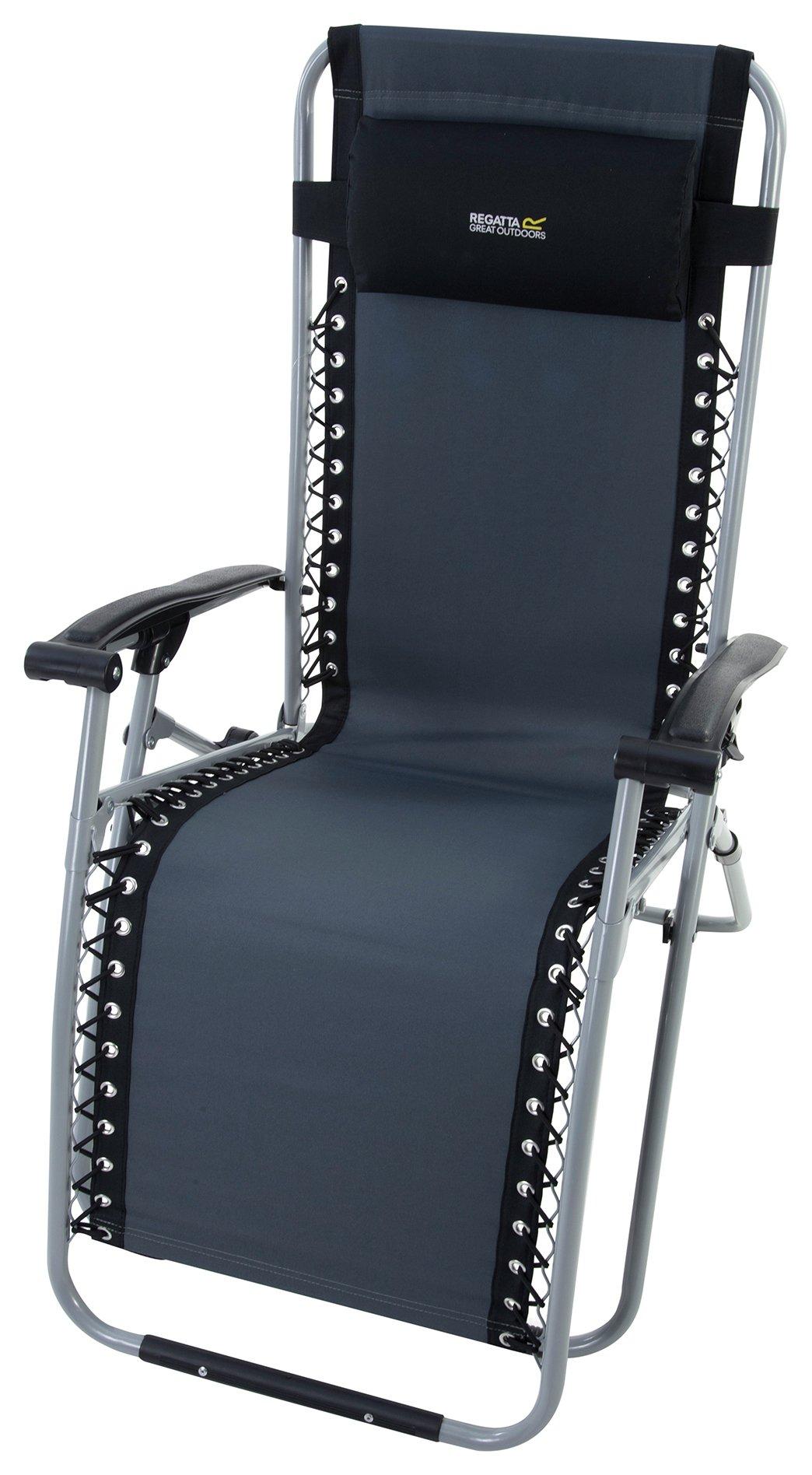 Regatta Black Colico Camping Chair