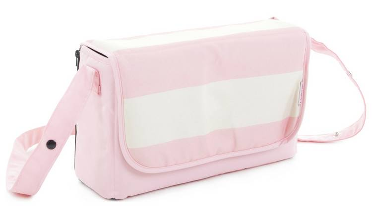 c71f9508c181e Buy My Babiie Pink Stripes Baby Changing Bag | Changing bags | Argos