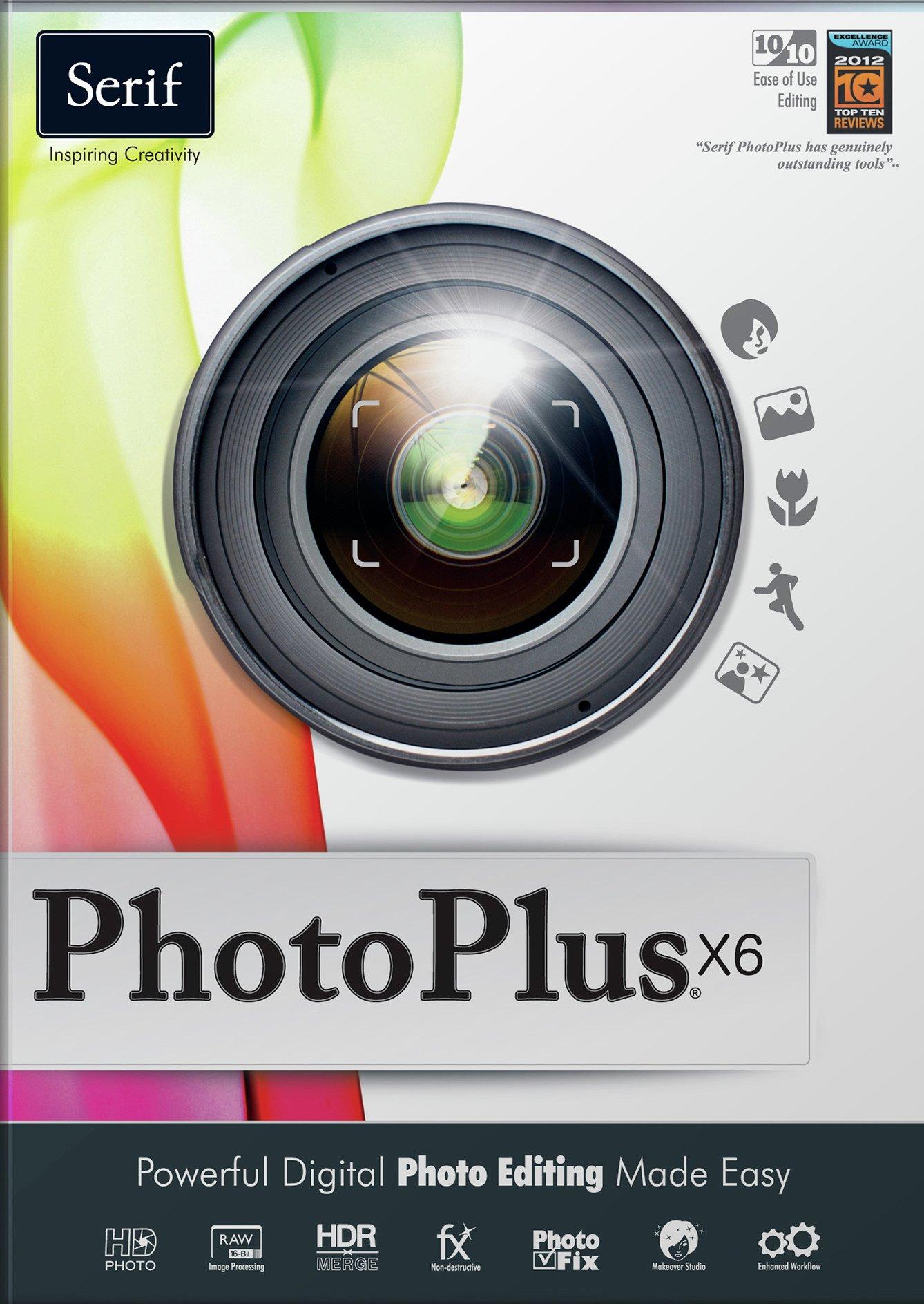 PhotoPlus X6 Photo PC Software.