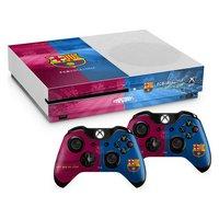 Barcelona FC Xbox One S Skin Bundle.