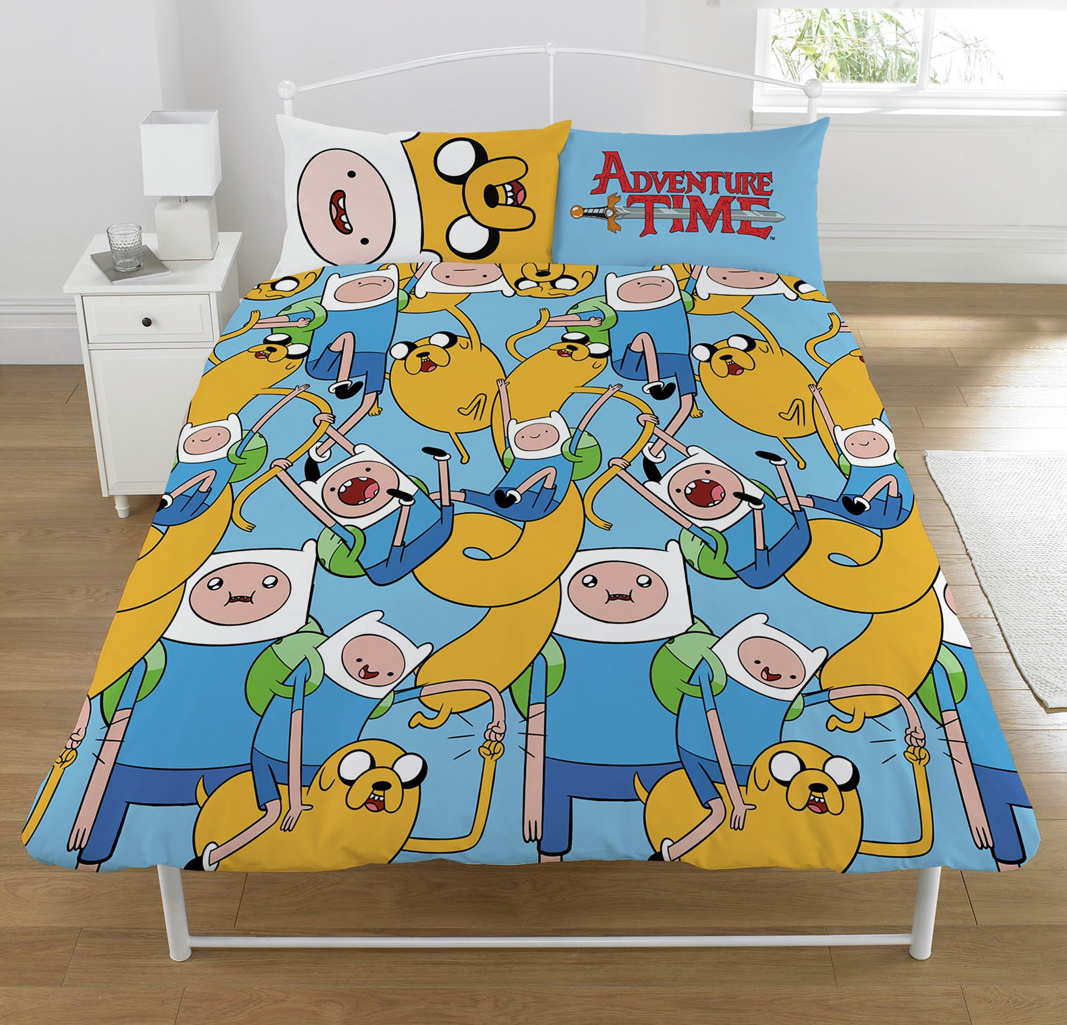 Image of Adventure Time Bedding Set - Double.
