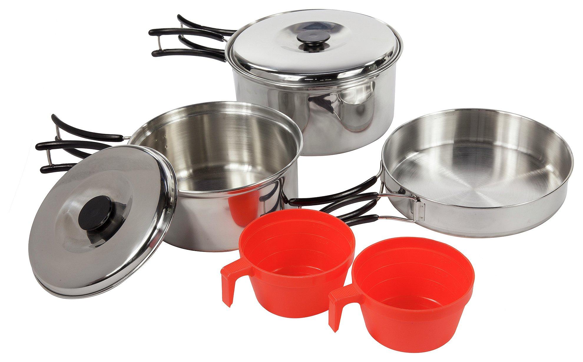 Regatta Silver Compact Cook Set.