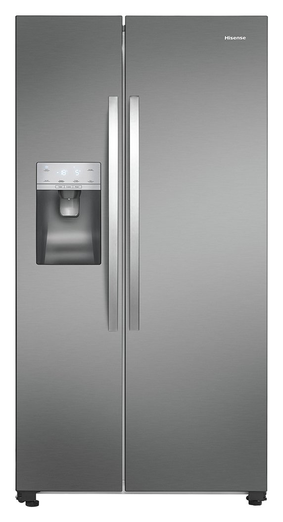 Hisense RS696N4II1 Fridge Freezer - Stainless Steel