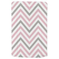 My Babiie - Pink and Grey Chevron - Changing Mat