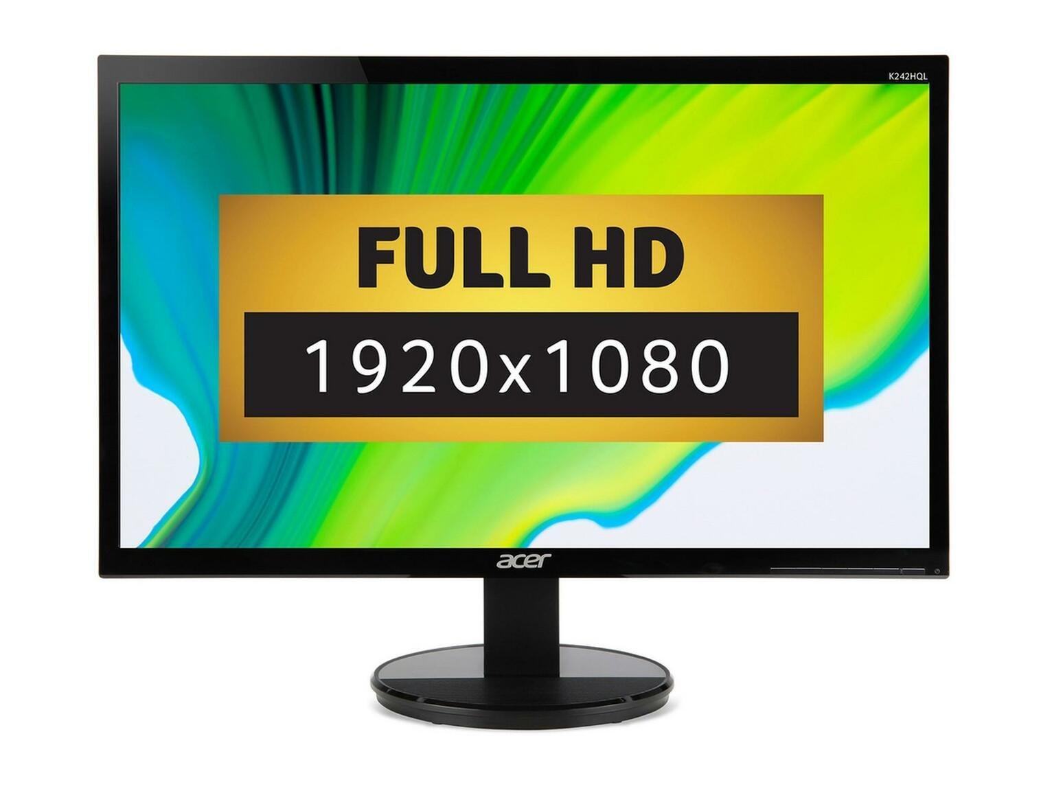 acer k242hl 23 6 inch monitor review. Black Bedroom Furniture Sets. Home Design Ideas