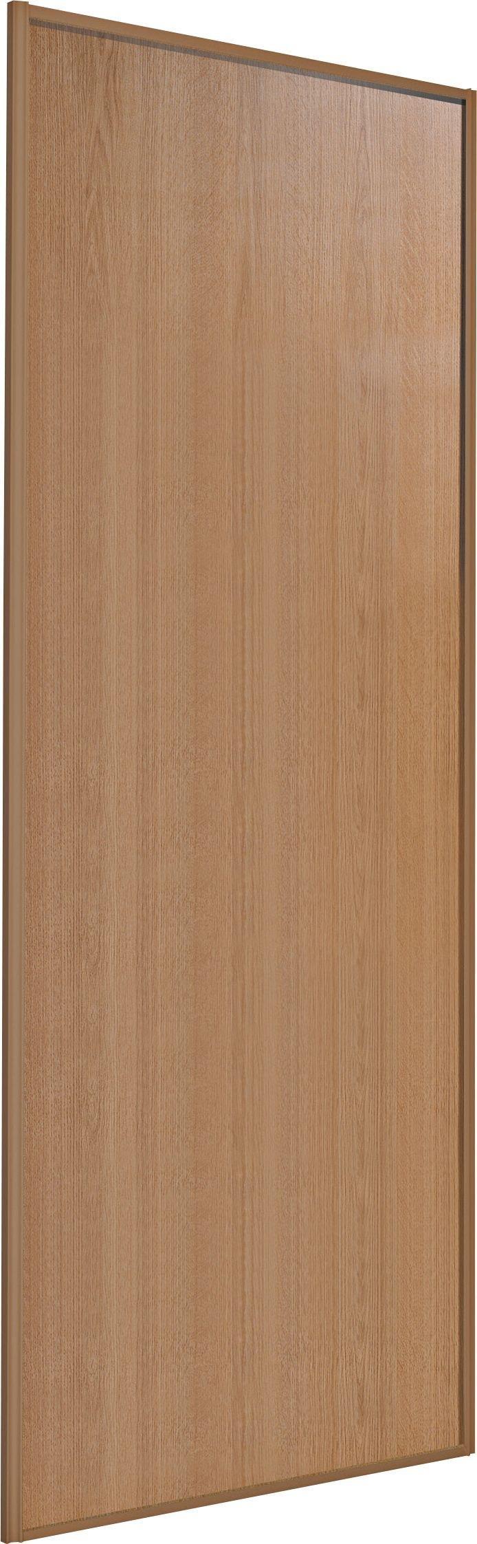 Sliding Wardrobe Door W61mm Oak Panel