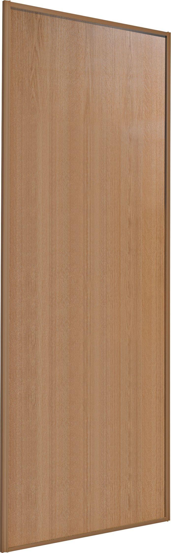 Sliding Wardrobe Door W762mm Oak Panel