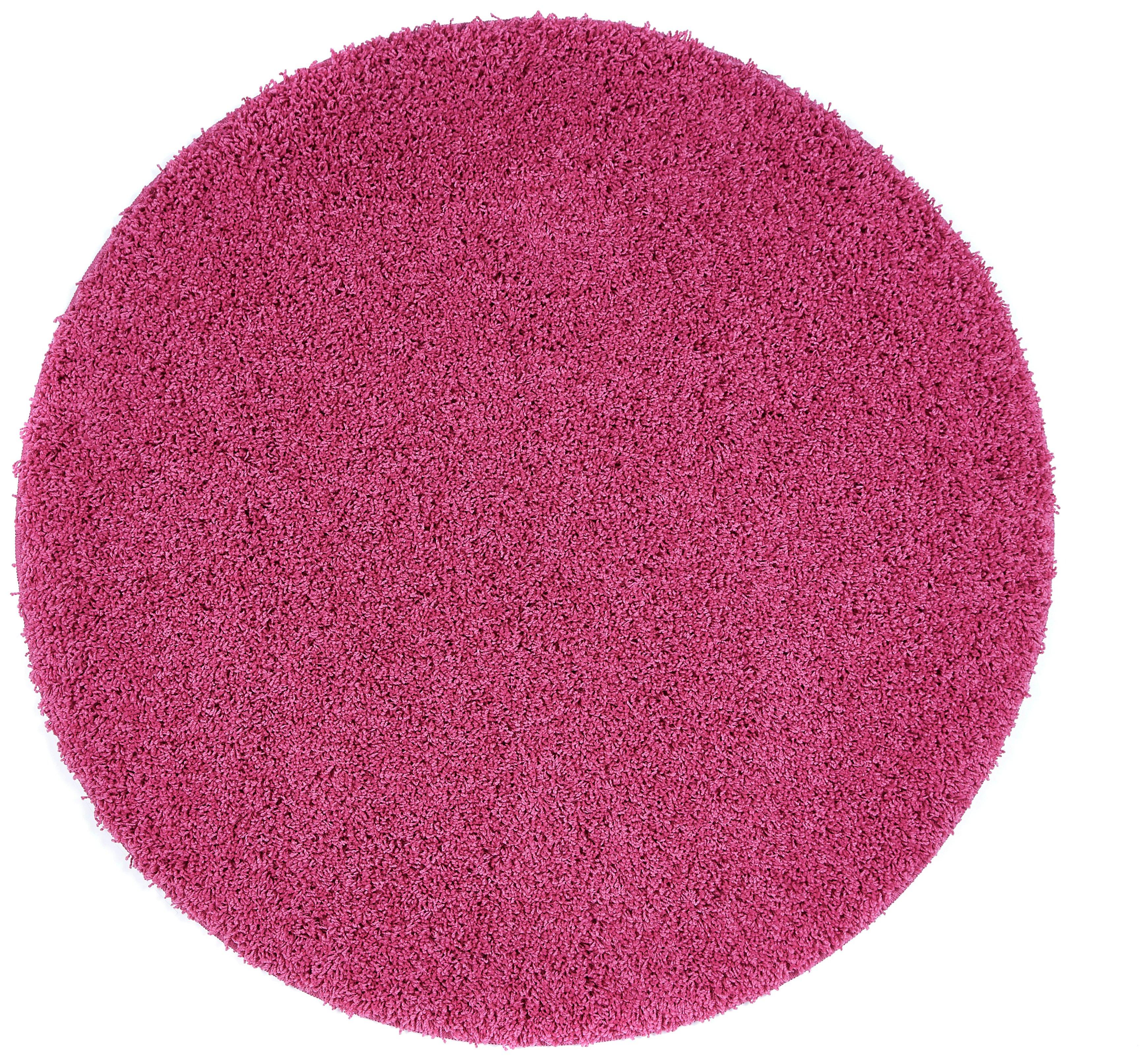Image of Buddy Mat Rug - 100x100cm - Pink.