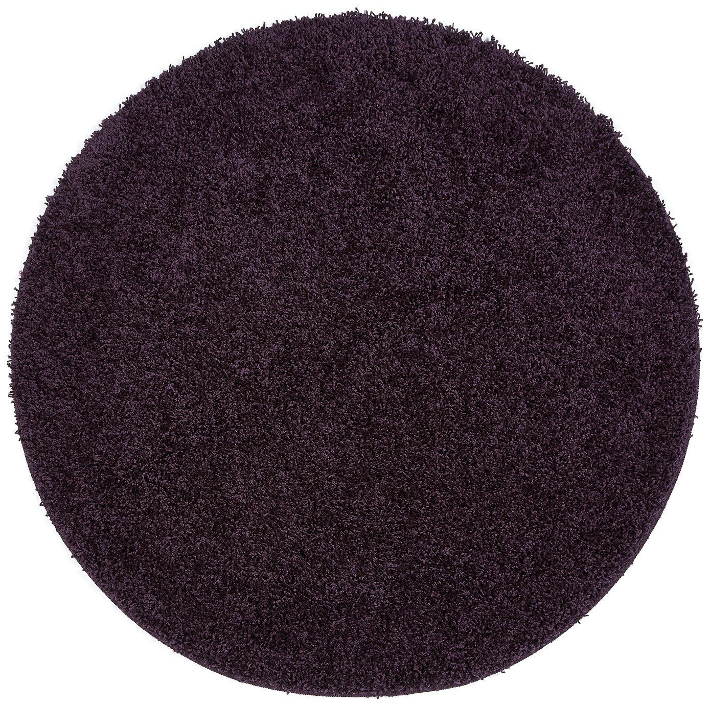 Image of Buddy Mat Rug - 100x100cm - Purple.