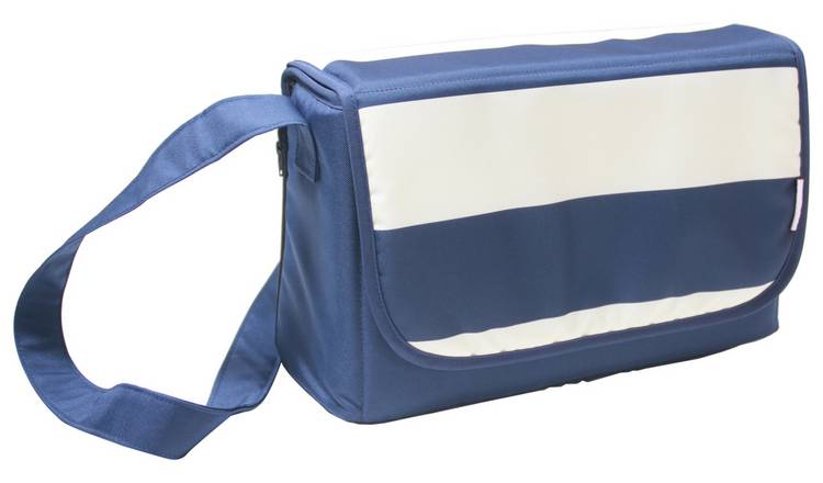 2a0753a731f09 Buy My Babiie Blue Stripes Baby Changing Bag | Changing bags | Argos