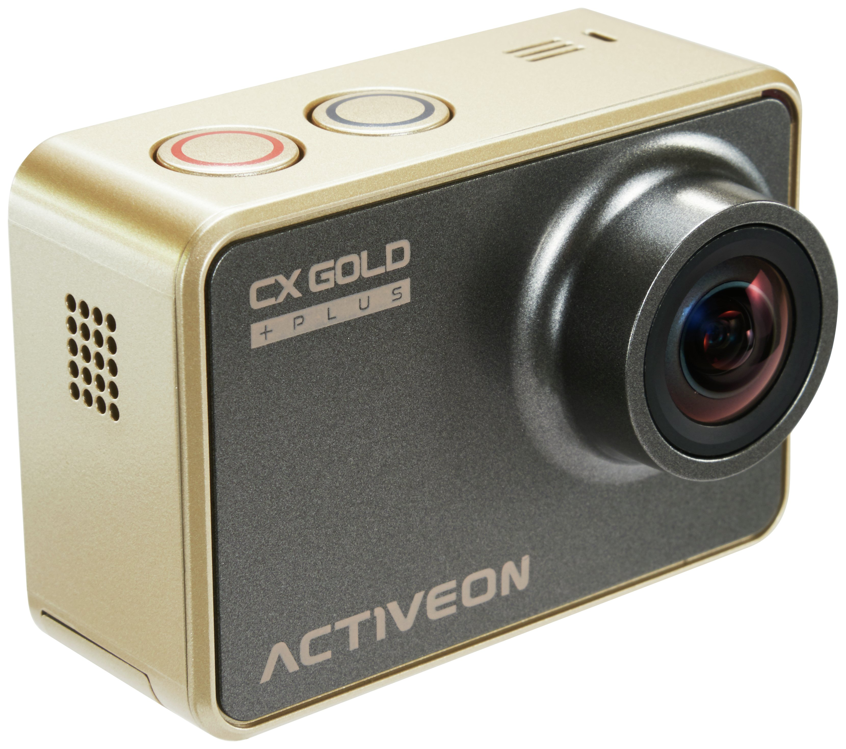 Image of Activeon XG - Action Camera with Solar Charging Station - Gold