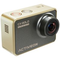 Activeon XG - Action Camera with Solar Charging Station - Gold