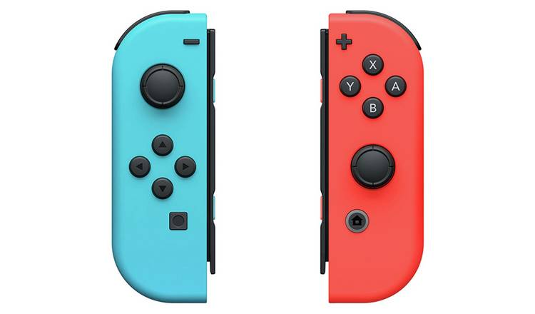 Buy Nintendo Switch Joy-Con Controller Pair - Neon Red & Blue ...